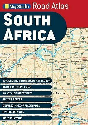 South Africa road atlas GPS ms scale: 1/1,25M, Map Studio Book The Cheap Fast