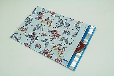 1000 6x9 Butterfly Designer Poly Mailers Envelopes Boutique Custom Bags