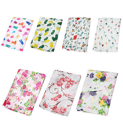 New Floral Waterproof Washing Machine Zippered Dust Cover Protection Durable UP