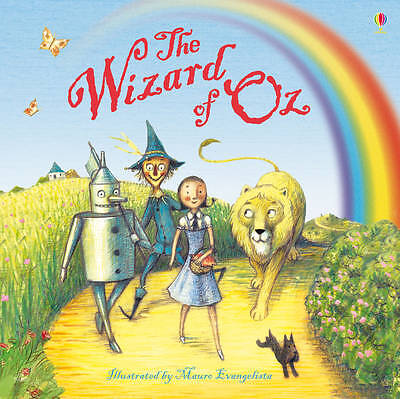 The Wizard of Oz, Usborne Picture Book, New