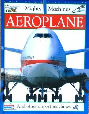 Aeroplane (Mighty Machines) Hardback Book The Cheap Fast Free Post