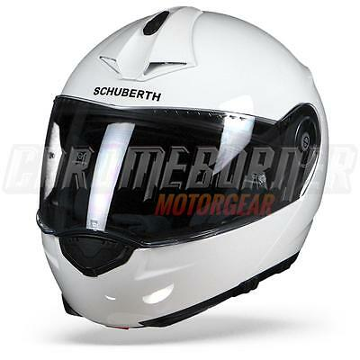 Schuberth C3 Pro Glossy White, Motorcycle Flip Up Helmet, C-3 Pro NEW!