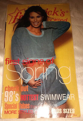 Frederick's of Hollywood 1998 Vol 108 Issue 437 Catalog Women's Fashion Lingerie