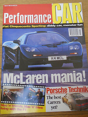 VINTAGE BBC TOP Gear Magazine #18 March 1995 Ford Escort