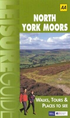 North York Moors (Ordnance Survey/AA Leisure Guides) by AA Publishing Book Book