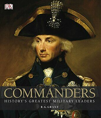 Commanders by Grant, R G Hardback Book The Cheap Fast Free Post