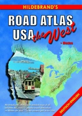 United States of America Road Atlas: The West (USA & Can..., Collectif Paperback