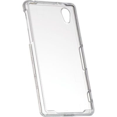 For Sony Xperia Z2 Rubberized Hard Snap-in Case Cover Clear