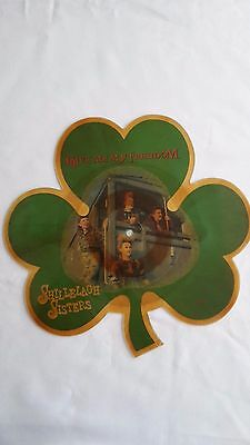 Shillelagh Sisters Give Me My Freedom - shaped picture disc vinyl record