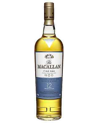 The Macallan 12 Year Old Scotch Whisky 700mL case of 6 Single Malt Highland