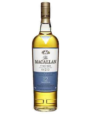 The Macallan 12 Year Old Scotch Whisky 700mL bottle Single Malt Highland