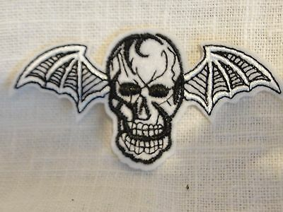 Avenged Sevenfold Batwing Patch A7X Skull Wings