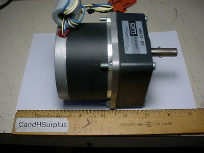 Oriental motor Co. # A3939-9412 Vexta stepper motor with gearbox 2-phase 1.8 deg