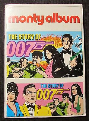 1983 THE STORY OF James Bond 007 Monty Album Complete Set of 200 Holland