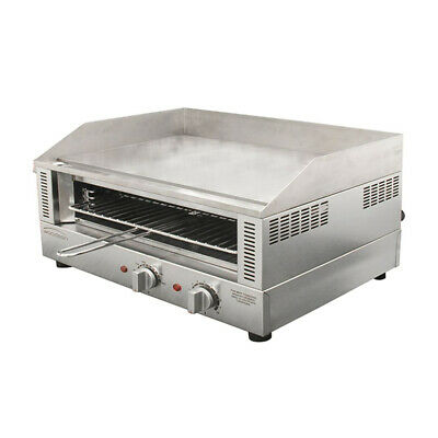 Toaster Griller w Smooth Griddle 671x484mm Grill Surface 20amp Woodson W.GDT75