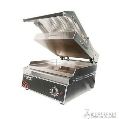 Contact Grill Smooth 350x350mm Stainless Steel Plate Woodson Pro Series W.GPC350
