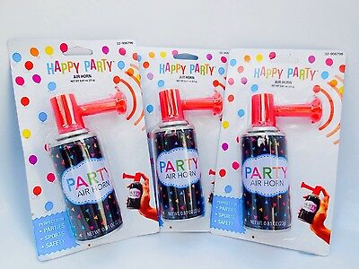 Lots 3 Exfresh Portable Hand held Personal Security Safety AIR HORN