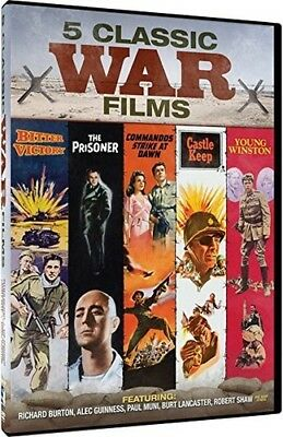 Classic War Movies: 5 Films - Young Winston DVD