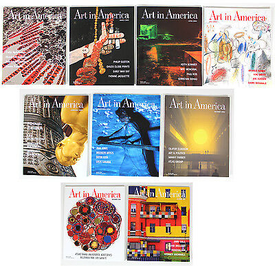 Art in America Magazine 2004 - Lot of 9 Issues