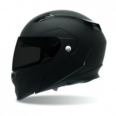 Bell Powersports Revolver EVO Modular Helmet Solid Colors XL Matte Black