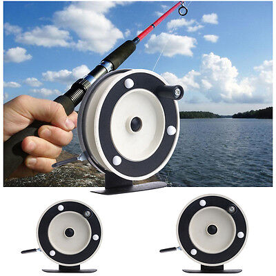 Portable Mini Pole Line Fishing Reel Rods Sea Ice Fly Shrimp Fishing Line Wheel