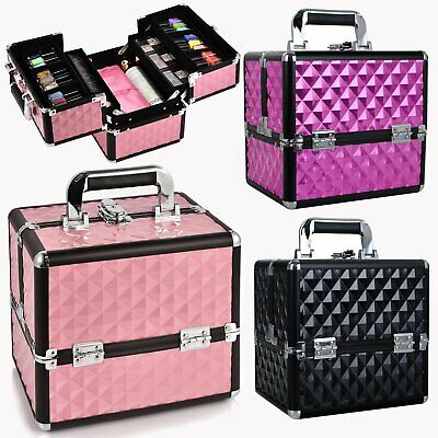Multi-style Portable Beauty Makeup Case Cosmetic Box Vanity Carry Bag Organiser