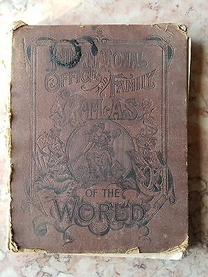 Antique Rare International and Office Family Atlas of the World United States