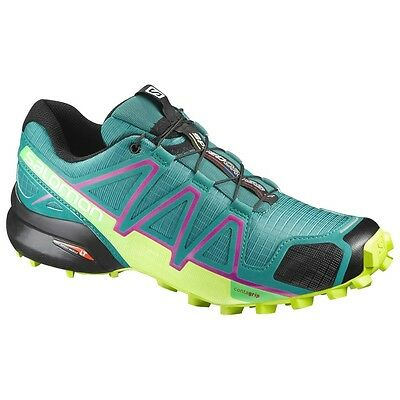 TRAIL RUNNING shoes Women's SALOMON SPEEDCROSS 4 W Deep Peacock