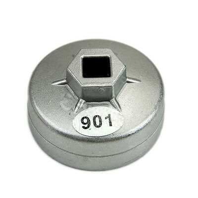 65mm 14 Flutes Metal Cap Oil Filter Wrench Socket Remover Tool  for Toyota