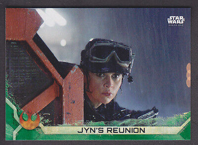 Topps Star Wars - Rogue One Series 2 - # 34 Green Squad Parallel