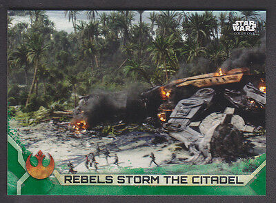 Topps Star Wars - Rogue One Series 2 - # 75 Green Squad Parallel
