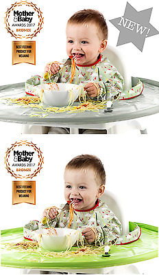 TIDYTOT Tidy Tot Baby/Toddler/Child Highchair High Chair Bib and Tray Kit