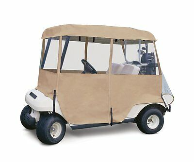 4 Sided Golf Car Enclosure 2 Person club cover cart weather protection rain NEW