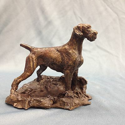 Limited Edition German Shortharied Pointer Bronze by Leslie Hutto