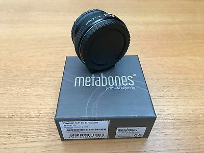 METABONES Canon EF to Sony E-mount MkIII Lens Adapter with FREE UK DELIVERY