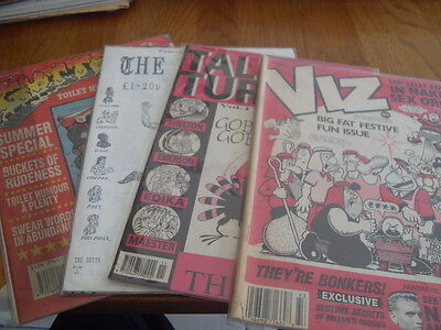 Viz /talking Turkey/the Brits/gutter 4 Issues