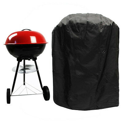 58*77cm BBQ Gas Grill Cover Large Black Heavy Duty Waterproof Barbecue Smoker