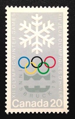 Canada #689 MNH,  Winter Olympics Stamp 1976