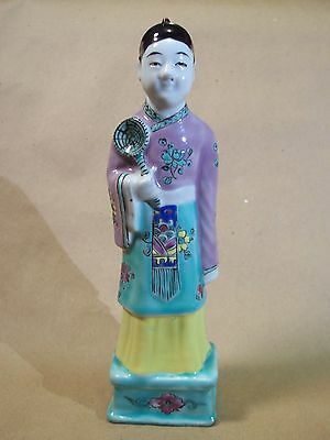 Antique Chinese Porcelain Figurine Boy Qing Dynasty