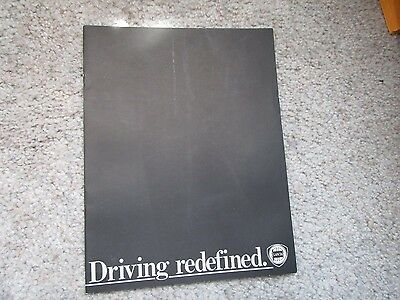 Vintage Lancia Driving Redefined 1979 brochure Booklet Zagato Coupe Sedan HPE