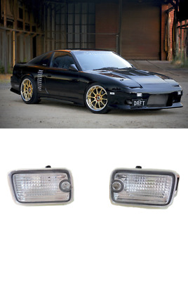 S13 Silvia 180SX Type-X Kouki Front Clear front bumper Lamps Lights F131