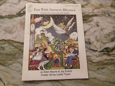 Fun With Nursery Rhymes - Posters & Reproducible Pages *Special* (ME20171)