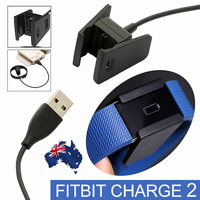 Replacement USB Charger Charging Cable Cradle Dock Adapter for Fitbit Charge 2