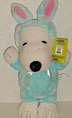 """Snoopy Porch Greeter Easter Beagle NEW With Tag Peanuts Plush 21"""" Large"""