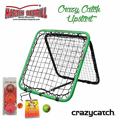 Crazy Catch Upstart Classic with MBS Storm Training Balls Three Pack