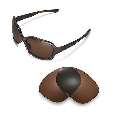 New Walleva Polarized Brown Lenses For Oakley Pulse Sunglasses