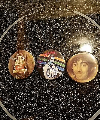 The Who: Keith Moon Button Pin Badge