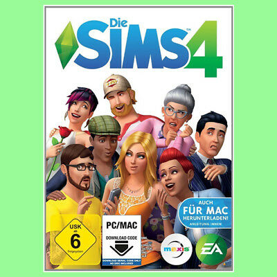 Die Sims 4 Hauptspiel Vollversion EA ORIGIN CD Key Download Code PC DE EU NEU
