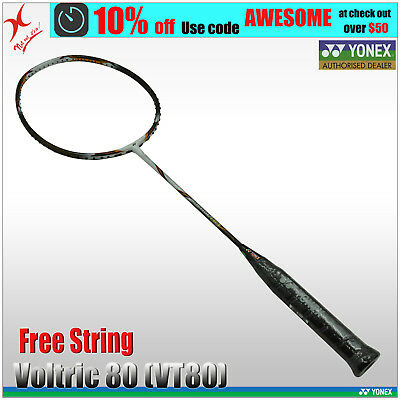 YONEX BADMINTON RACQUET - Voltric 80 (VT80) Made in Japan - Best Price Guaranty