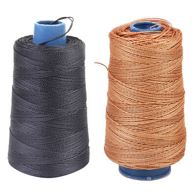 2 Roll Twine Nylon Serving Thread Bowstring Kite Line String Cord 80 Pounds